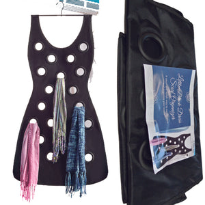 LITTLE BLACK DRESS SCARF HOLDER