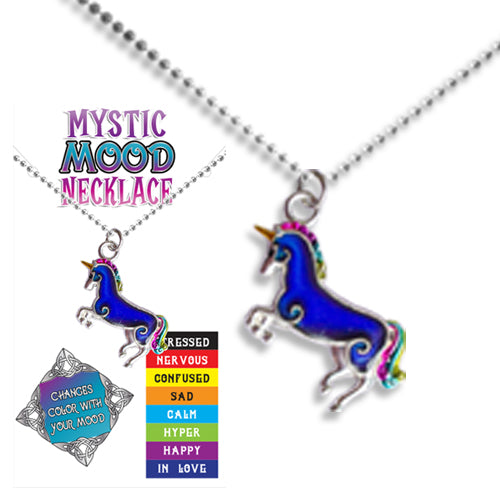 MOOD UNICORN NECKLACE