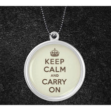Load image into Gallery viewer, KEEP CALM NECKLACE