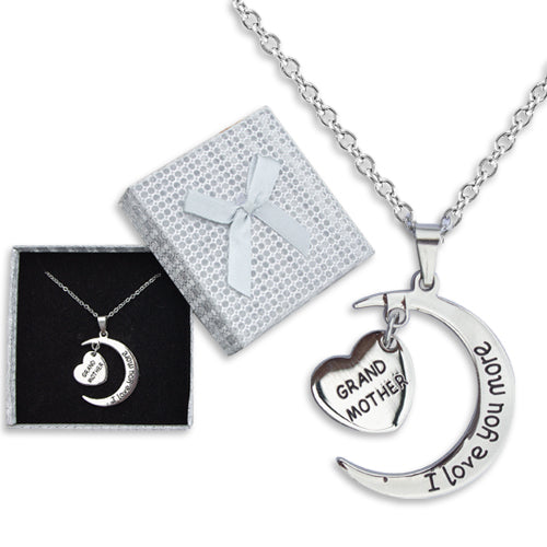 LOVE YOU GRANDMOTHER MOON NECKLACE