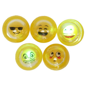 EMOTICON LIGHT UP BALL