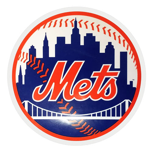METS WINDOW CLING