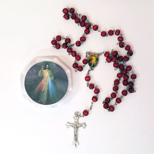 ROSE SCENTED ROSARY BEADS