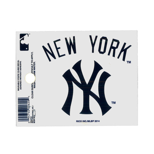 YANKEES WINDOW CLING