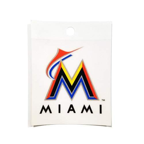 MARLINS WINDOW CLING