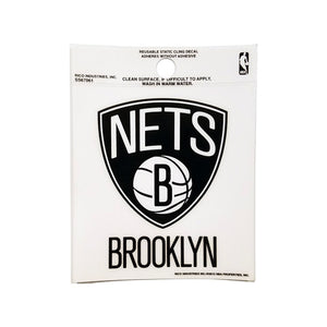 NETS WINDOW CLING