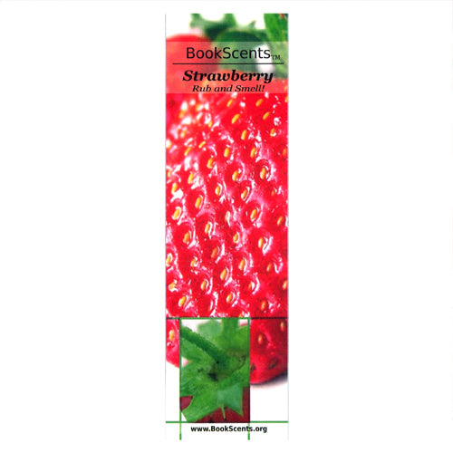STRAWBERRY BOOKMARK (PACK OF 25)