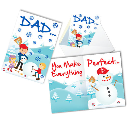 DAD CARD W/ENVELOPE