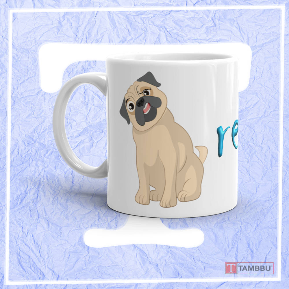 Funny Pug Really? Mug