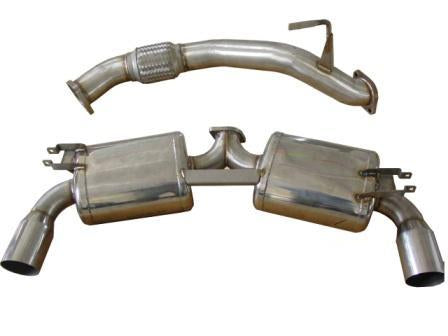 "Berk Technology Toyota 90-99 MR2 Dual 3"" Exhaust"