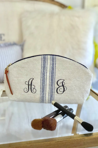 Monogram Grainsack Clutch / Cosmetic Bag