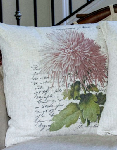 Floral Botanical Pillow Collection