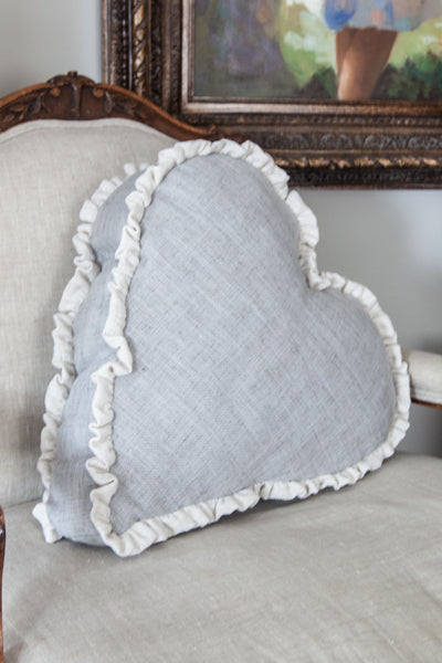 Boxed Heart Pillow