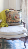 Bucolic Toile Print Pillow - 20 x 20