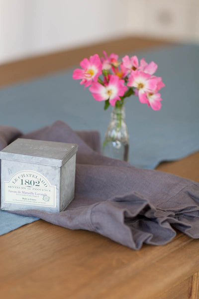 French Soap and Linen Towel