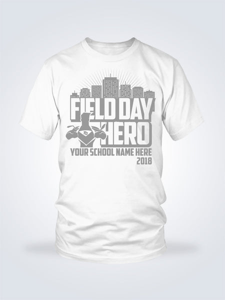 Field Day Hero Tee - 1 Color - On White