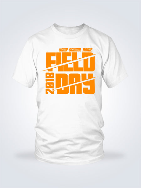 Field Day Slash Tee - 1 Color - On White