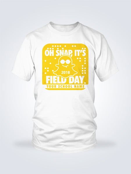 Field Day Snap Tee - 1 Color - On White