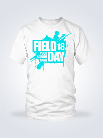 Field Day Splat Tee - 1 Color - On White