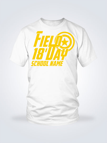 Field Day Captain Tee - 1 Color - On White