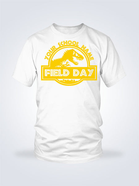 Field Day Dino Tee - 1 Color - On White