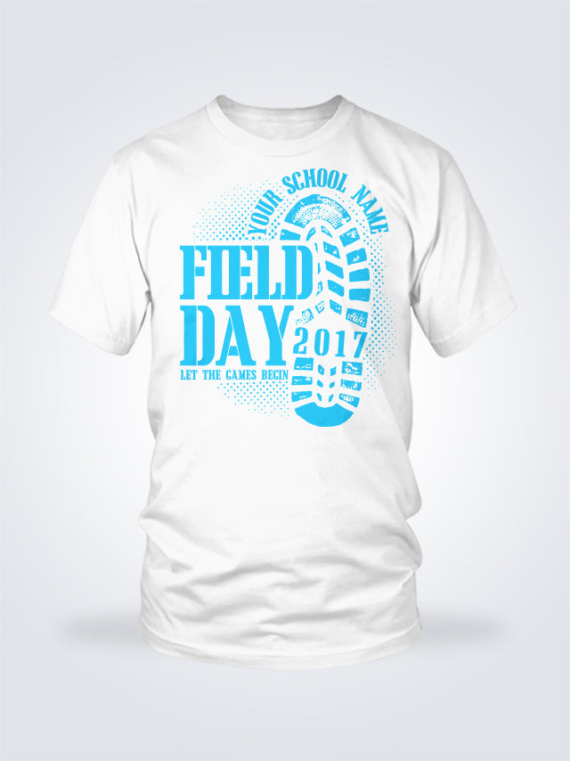 Field Day Boot Camp Tee - 1 Color - On White