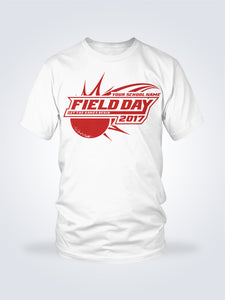 Field Day Dodgeball Tee - 1 Color - On White