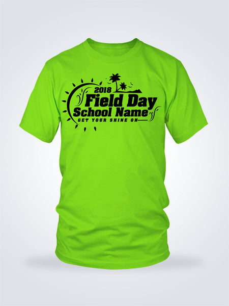Field Day Palms Tee - 1 Color