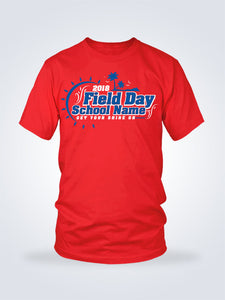 Field Day Palms Tee - 2 Colors