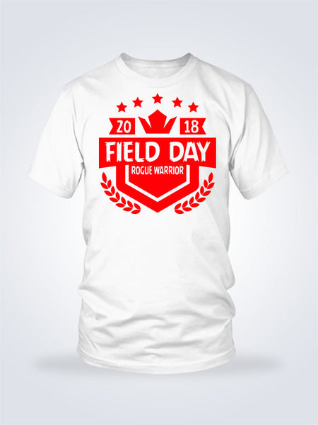 Field Day Shield Tee - 1 Color - On White