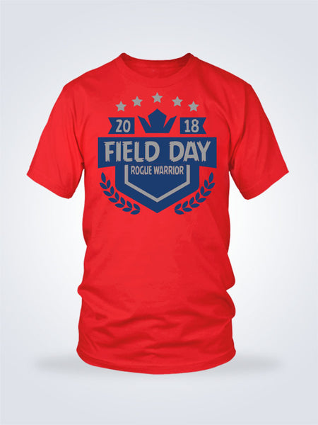 Field Day Shield Tee - 2 Colors