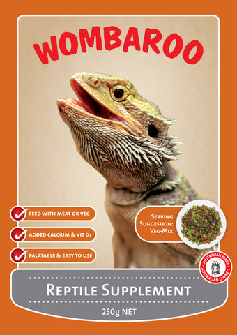 Womberoo Reptile Supplement