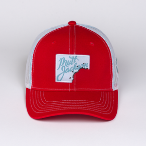 Mutt Jackson Bite Mark Hat - Red