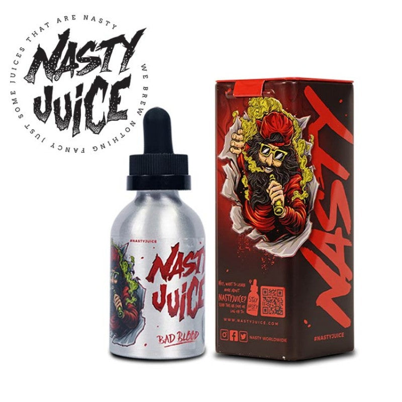 NASTY LOW MINT - BAD  BLOOD 60ML