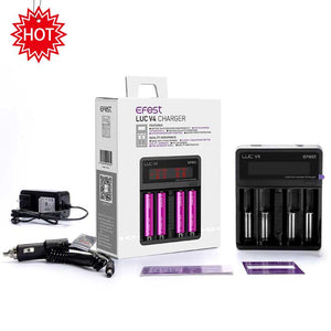 EFEST LUC V4 SMART CHARGER WITH LCD SCREEN