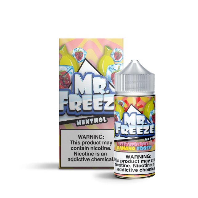 Strawberry Banana Frost by Mr. Freeze 100ML