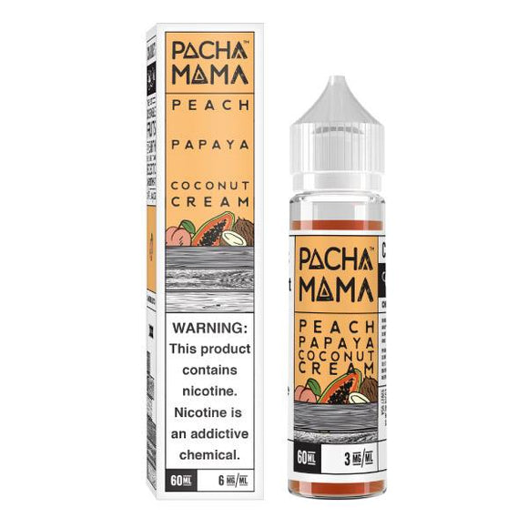 Pacha Mama - Peach Papaya Coconut Cream 60ML