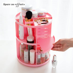 360 Rotating Make-up Organizer