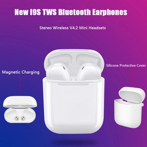 Smartphone Bluetooth Stereo Earbuds (i9S TWS) Headphones