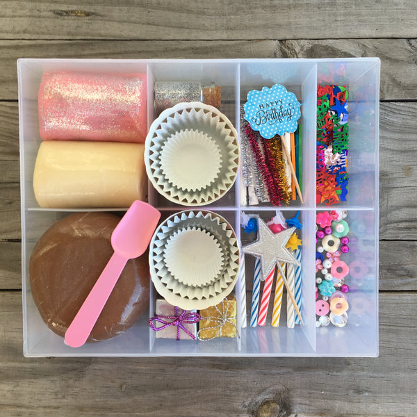 Cupcake Themed Playdough Set