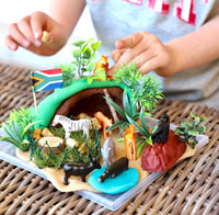 Safari Adventure Themed Playdough Set