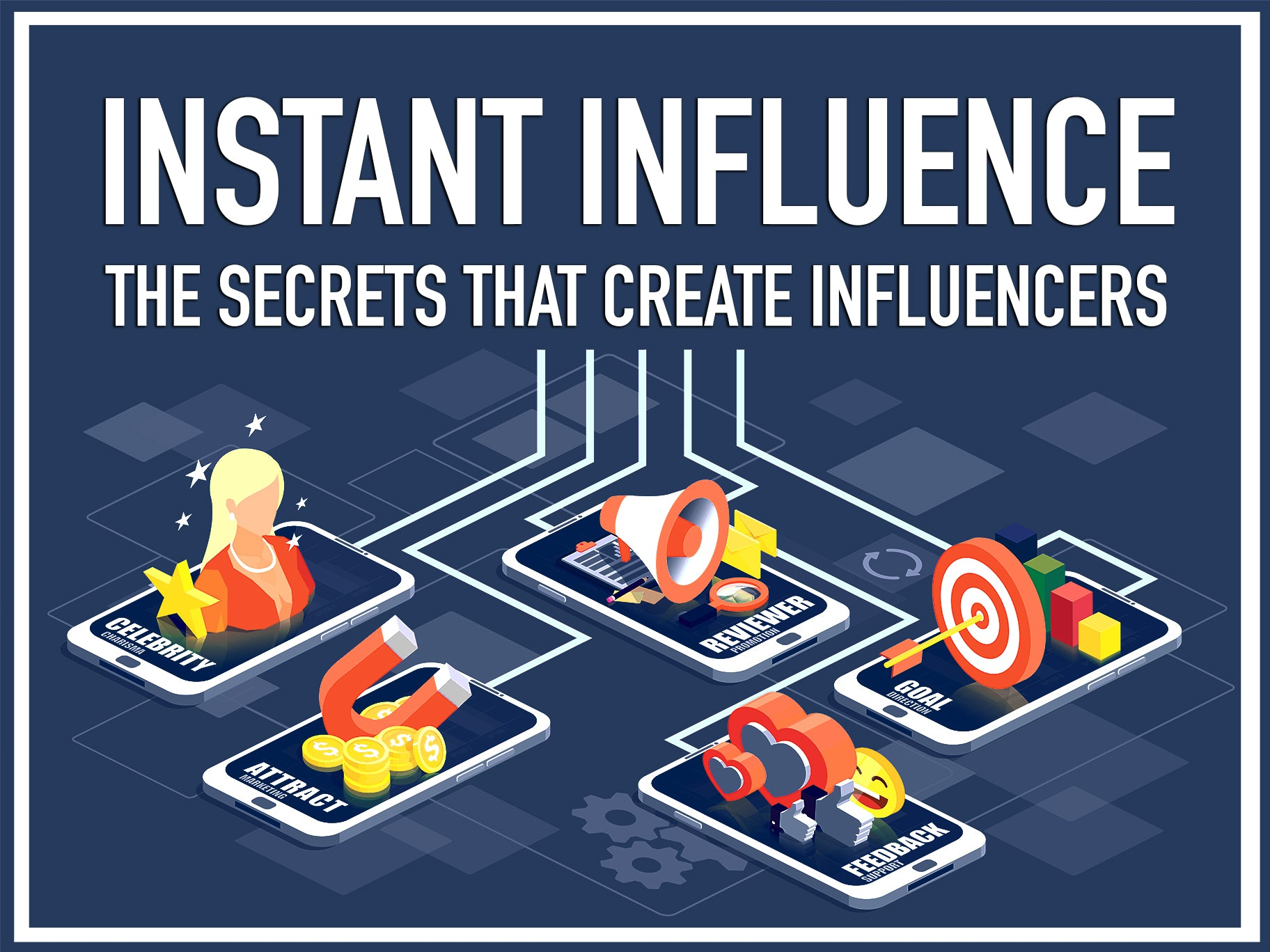 Instant Influence: The Secrets that Create Influencers