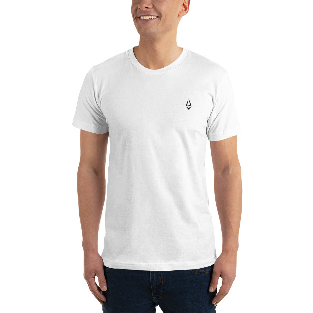 The Greats Embroidered White T-Shirt