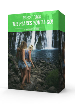 THE PLACES YOU'LL GO! PRESET PACK