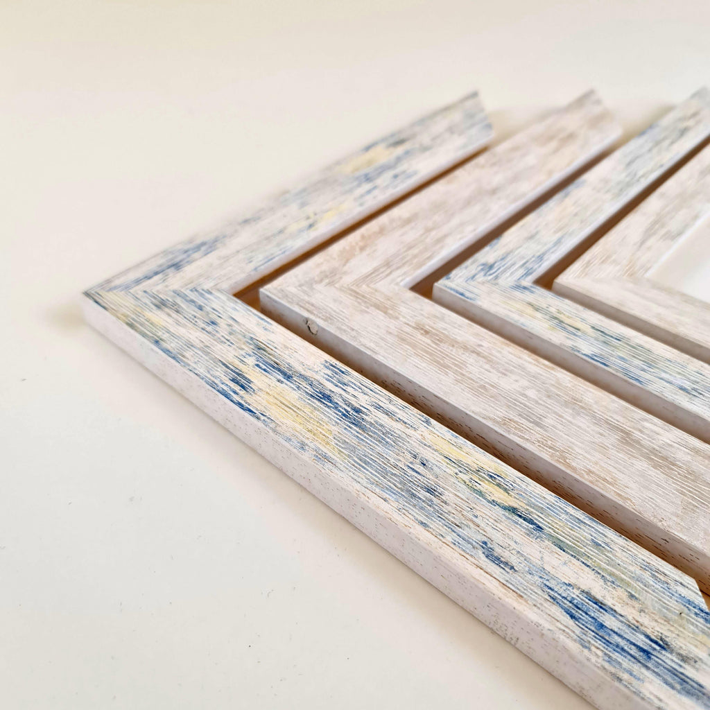 Breeze - Washed Out Coastal Style Wood Picture Frames -  coastal-frames.myshopify.com