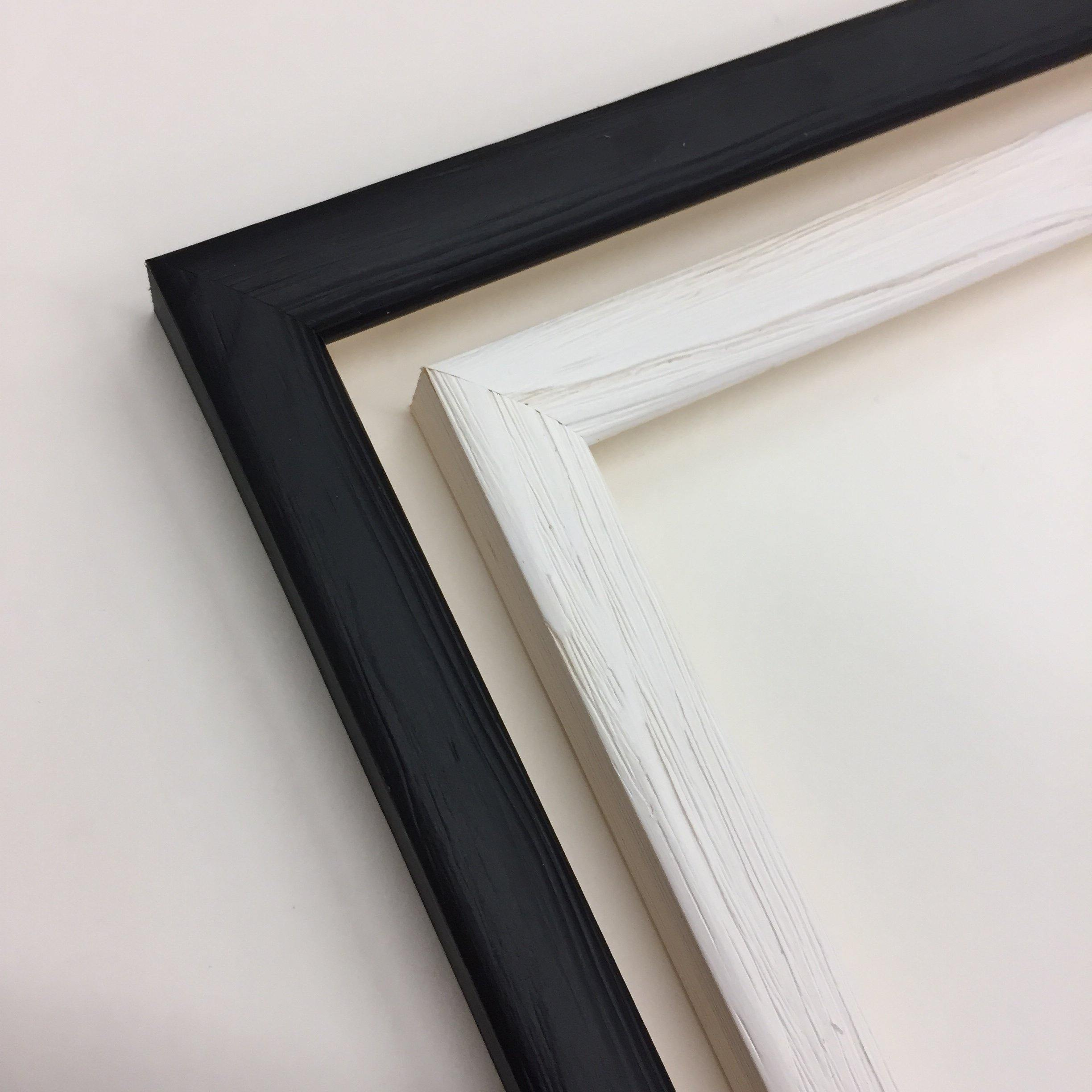 A4 black and white picture frames