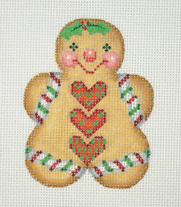BB 1082 - Gingerbread Girl - Red Buttons