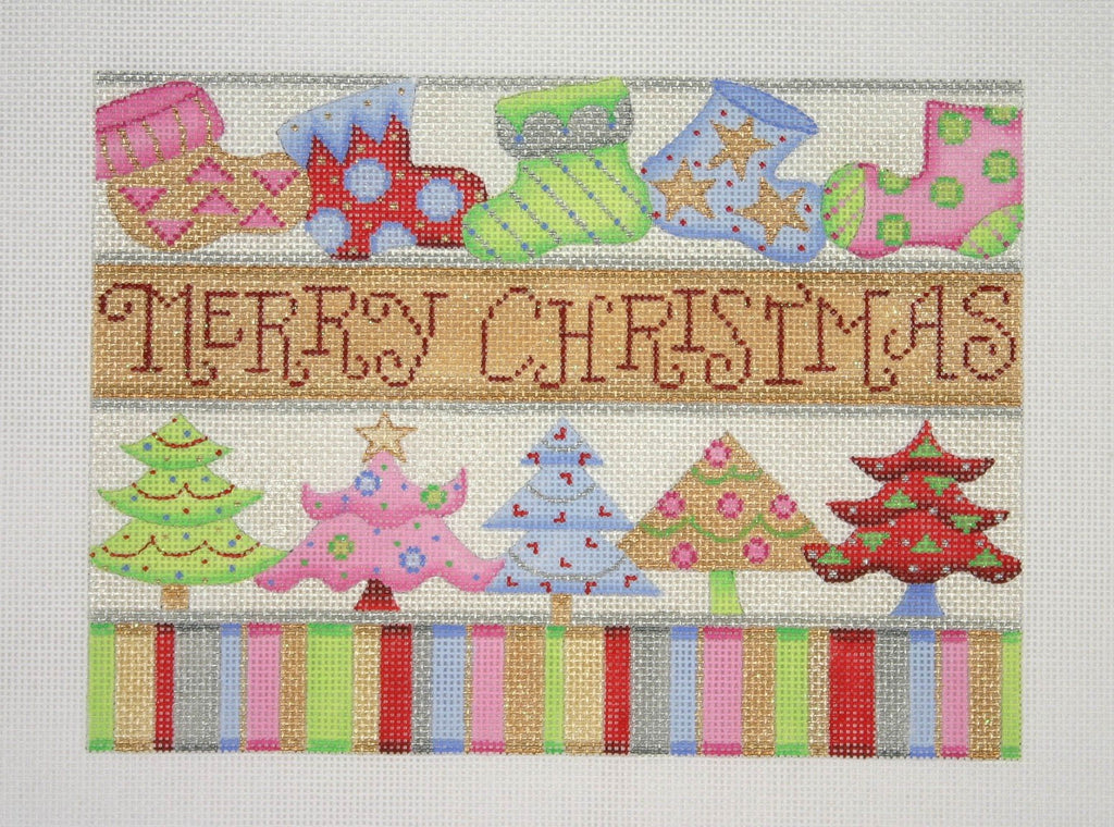 BB 1301 - Christmas Pillow - Merry Christmas