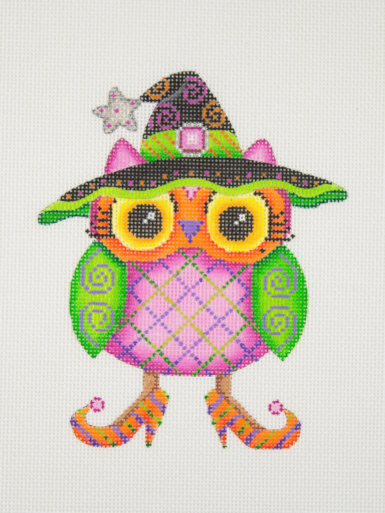 BB 1793 - Halloween Owl - Witch Hat