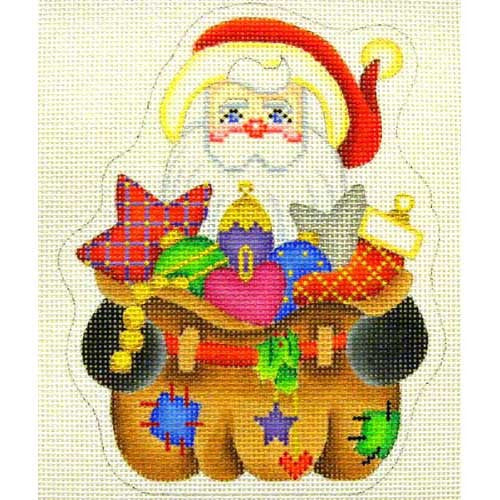 BB 2525 - Santa - Bag of Christmas Ornaments